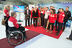 Ottawa, ON - January 24 2017 - The Canadian Paralympic Committee staff members after Todd Nicholson is announced as the Team Canada Chef de Mission for the 2018 Paralympic Winter Games in Pyeongchang, South Korea at the Jim Durrell Recreation Complex in Ottawa, Ontario, Canada (Photo: Matthew Murnaghan/Canadian Paralympic Committee)
