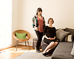 April 7, 2017. Durham, North Carolina.<br /> <br /> (from right) Nido owners Tiff Frye and Lis Tyroler.<br /> <br /> Nido is a co-working space which also offers a Montessori preschool on site. Catering to working parents with morning and afternoon preschool shifts, Nido has thrived and is actively looking for a larger space. <br /> <br /> Jeremy M. Lange for The New York TImes