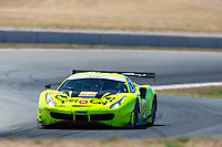 12th January 2020; The Bend Motosport Park, Tailem Bend, South Australia, Australia; Asian Le Mans, 4 Hours of the Bend, Race Day; The number 7 Car Guy GT driven by Takeshi Kimura, Kei Cozzolino, Come Ledogar during the race - Editorial Use