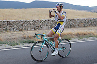 Thomas De Gendt during the stage of La Vuelta 2012 beetwen Penafiel-La Lastrilla.September 7,2012. (ALTERPHOTOS/Paola Otero) /NortePhoto.com<br /> <br /> **CREDITO*OBLIGATORIO** *No*Venta*A*Terceros*<br /> *No*Sale*So*third* ***No*Se*Permite*Hacer Archivo***No*Sale*So*third