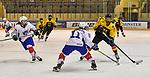 07.01.2020, BLZ Arena, Füssen / Fuessen, GER, IIHF Ice Hockey U18 Women's World Championship DIV I Group A, <br /> Deutschland (GER) vs Frankreich (FRA), <br /> im Bild Julia Mesplede (FRA, #19), Isabelle de Liberti (FRA, #11), Lisa Heinz (GER, #3)<br /> <br /> Foto © nordphoto / Hafner