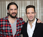 "Will Swenson and Chris Diamantopoulos attend the Meet the new cast of ""Waitress"" at St. Cloud Rooftop Restaurant at The Knickerbocker Hotel on March 23, 2017 in New York City."
