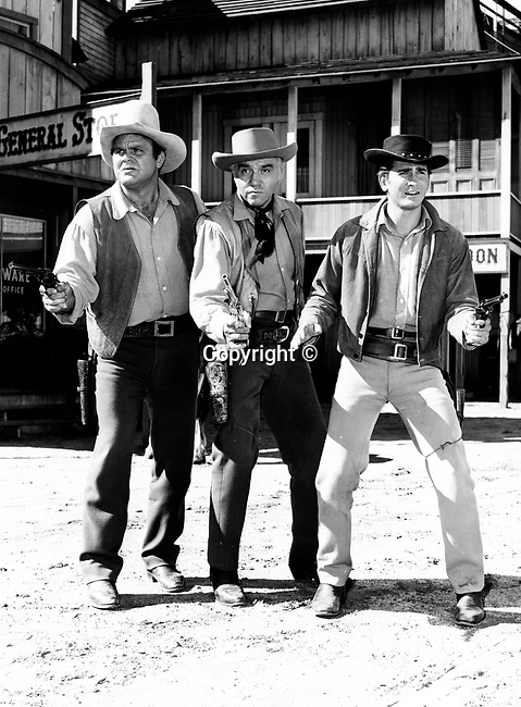 The Cartwrights Bonanza an American western television series on NBC Dan Blocker Lorne Greene and Michael Landon, Fine Art Photography by Ron Bennett, Fine Art, Fine Art photography, Art Photography, Copyright RonBennettPhotography.com ©