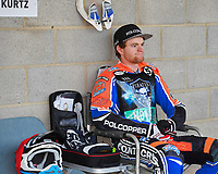 Brady Kurtz of Poole Pirates during Poole Pirates vs King's Lynn Stars, SGB Premiership Shield Speedway at The Stadium on 11th April 2019