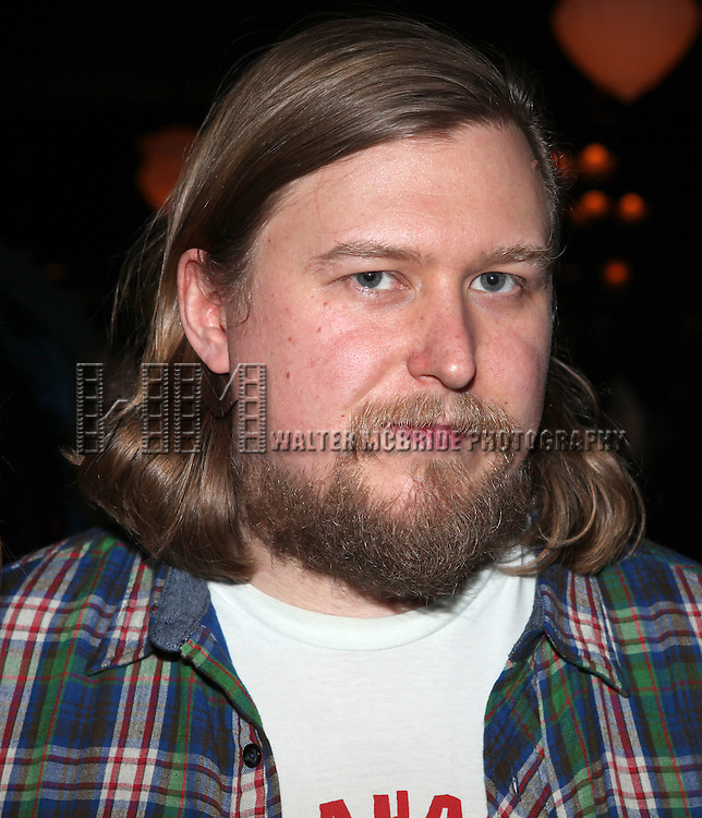 "Michael Chernus.attending the opening Night Party for Playwrights Horizons' World Premiere Production of ""A Small Fire"" at Heartland Brewery in New York City."
