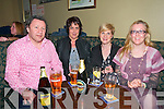 Gael Scoil Quiz : Attending the fund raising quiz for Gael Scoil, Listowel held at the Kingdom Bar, Listowel on Friday night last were Maurice Hannon, Anne Kennelly, Aoife Hannon & Juliet O'Keeffe.