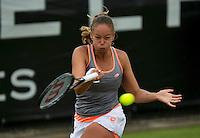 Netherlands, Den Bosch, 16.06.2014. Tennis, Topshelf Open, Lesley Kerkhove (NED)<br /> Photo:Tennisimages/Henk Koster