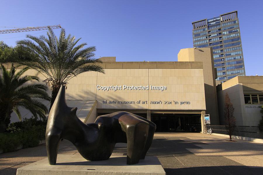 Israel, Tel Aviv-Yafo, Tel Aviv Museum of Art
