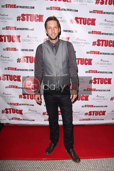 Joel David Moore<br /> at the #Stuck Launch Party, Hemingways, Hollywood, CA 11-14-13<br /> David Edwards/DailyCeleb.com 818-249-4998