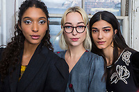 Jonathan Cohen Fall 2020 Ready-to-Wear Collection backstage at fashion show at New York Fashion Week,  New York, USA in February 2020.<br /> CAP/GOL<br /> ©GOL/Capital Pictures
