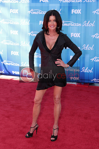 Janice Dickinson<br /> at the &quot;American Idol&quot; 2012 Finale, Nokia Theatre, Los Angeles, CA 05-23-12<br /> David Edwards/DailyCeleb.com 818-249-4998