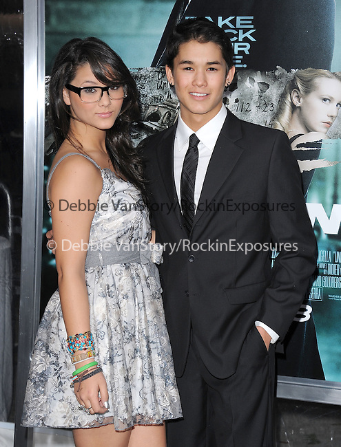 BooBoo Stewart and Fivel Stewart attends The Warner Bros. Pictures Premiere of Unknown held at The Regency Village Theatre in Westwood, California on February 16,2011                                                                               © 2010 DVS / Hollywood Press Agency