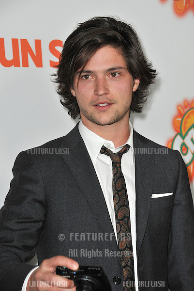 """Thomas McDonell at the Los Angeles premiere of his new movie """"Fun Size"""" at the Paramount Theatre, Hollywood..October 25, 2012  Los Angeles, CA.Picture: Paul Smith / Featureflash"""
