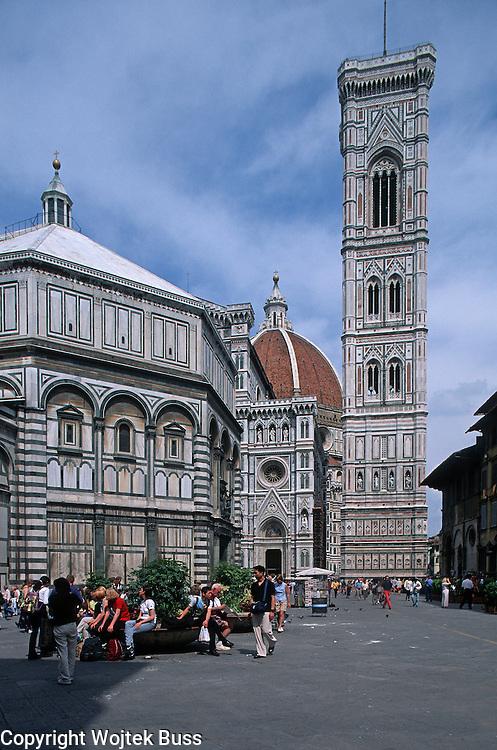 Italia,Toscana,Florence,Cathedral (Duomo),Campanile