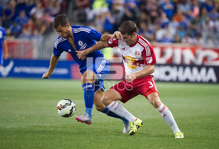 HARRISON, NJ - Wednesday July 22, 2015: 2015 Barclays Premier League Champions Chelsea  lose to the New York Red Bulls 2-4 as part of the Guinness International Champions Cup at Red Bull Arena.
