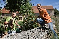 Europe/France/Midi-Pyrénées/46/Lot/Espédaillac: Pierre Villet et Jessie Mazurier Chambre d'Hotes -Le Mas d'Ourgnaguel