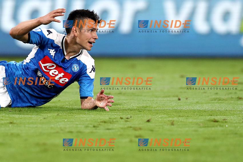 Hirving Lozano of SSC Napoli <br /> Napoli 25-9-2019 Stadio San Paolo <br /> Football Serie A 2019/2020 <br /> SSC Napoli - Cagliari SC<br /> Photo Cesare Purini / Insidefoto