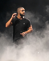 DRAKE performs as the Headline act during The New Look Wireless Festival at Finsbury Park, London, England on 28 June 2015. Photo by Andy Rowland.
