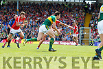 David Moran Kerry  in action against  Cork in the Munster Senior Football Final at Fitzgerald Stadium on Sunday.
