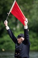 Henley Royal Regatta, Henley on Thames, Oxfordshire, 29 June-3 July 2015.  Thursday  18:37:10   30/06/2016  [Mandatory Credit/Intersport Images]<br /> <br /> Rowing, Henley Reach, Henley Royal Regatta.<br /> <br /> Umpire, Prof. Boris RANKOV