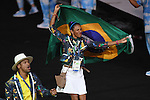 Brazil Delegation (BRA),<br /> SEPTEMBER 7, 2016 : Opening Ceremony at Maracana <br /> during the Rio 2016 Paralympic Games in Rio de Janeiro, Brazil. <br /> (Photo by AFLO SPORT)