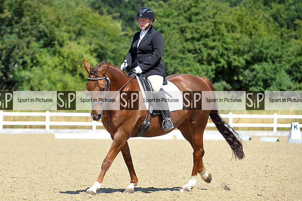 Class 2. British Dressage. Brook Farm Training Centre. Essex. 19/07/2015. MANDATORY Credit Ellie Ingram/Sportinpictures - NO UNAUTHORISED USE - 07837 394578