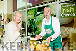 Violet Ryle, The Spa, Tralee and Jim O'Brien from O'Brien's Cheese at  Taste of Tralee in  Manor West Retail Park on Saturday