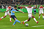 15.02.2020, Merkur Spiel-Arena, Duesseldorf, GER, 1. BL, Fortuna Duesseldorf vs. Borussia Moenchengladbach, DFL regulations prohibit any use of photographs as image sequences and/or quasi-video<br /> <br /> im Bild / picture shows: Jonas Hofmann (#23, Borussia Moenchengladbach) erzielt das Tor zum 0:1<br /> <br /> Foto © nordphoto/Mauelshagen