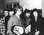 Hollies 1960's with Graham Nash..© Chris Walter..