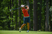 Peiyun Chien (TAI) watches her tee shot on 2 during round 1 of the U.S. Women's Open Championship, Shoal Creek Country Club, at Birmingham, Alabama, USA. 5/31/2018.<br /> Picture: Golffile | Ken Murray<br /> <br /> All photo usage must carry mandatory copyright credit (&copy; Golffile | Ken Murray)