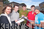 HAPPY: Leaving Cert students from CBS, the Green, who got their Leaving Cert results on Wednesday, l-r: Padraig O'Sugrue, Rathanny, Adrian O'Connor, Ballymacellligott, Niall Drumm, Ballyard, Stuart Boyle, Fenit and Eric Heaslip, Tralee.