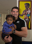 Ben May. Suva Children's Hospital. Suva, Fiji. July 10 2015. Photo: Marc Weakley