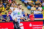 Andreas PALICKA (#12 Rhein-Neckar Loewen) \ beim Spiel in der Handball Bundesliga, SG BBM Bietigheim - Rhein Neckar Loewen.<br /> <br /> Foto &copy; PIX-Sportfotos *** Foto ist honorarpflichtig! *** Auf Anfrage in hoeherer Qualitaet/Aufloesung. Belegexemplar erbeten. Veroeffentlichung ausschliesslich fuer journalistisch-publizistische Zwecke. For editorial use only.