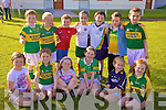 The Foilmore U8 team who took part in the Blitz in Waterville on Thursday last were front l-r; Ca?iti? O'Sullivan, Jordan Kelly, Hannah Sugrue, Ava O'Sullivan, Aoife Looney, Sarah O'Shea, back l-r; Donnacha O'Connor, Jack Clifford, Mickie Kavanagh, Dylan O'Shea, Seamus Sugrue, Fiachra Collins & Joseph Coffey.