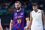 Mitotic during Real Madrid vs FC Barcelona final of Supercopa Endesa. September 22, 2019. (ALTERPHOTOS/Francis González)
