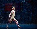 London, UK. 19.05.2014. Rambert presents Lucinda Childs' FOUR ELEMENTS, as part of their London Spring Season 2014, at Sadler's Wells. Picture shows: Dane Hurst. Photograph © Jane Hobson.