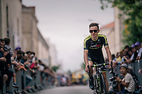 Adam Yates (GBR/Mitchelton-Scott) at the Team presentation in La Roche-sur-Yon<br /> <br /> Le Grand D&eacute;part 2018<br /> 105th Tour de France 2018<br /> &copy;kramon