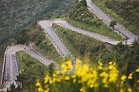 Europe/France/Provence-Alpes-Côtes d'Azur/06/Alpes-Maritimes/Alpes-Maritimes/Arrière Pays Niçois/ Env de Sospel:  Lacets du Col de Braus