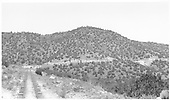 View looking north up Barranca Hill track.  Probably taken from the rear of a descending train.<br /> D&amp;RGW  Barranca Hill, NM  Taken by Richardson, Robert W. - 7/2/1941