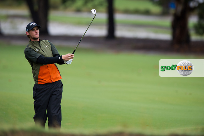 Thomas Pieters (BEL) during the second day of the World cup of Golf, The Metropolitan Golf Club, The Metropolitan Golf Club, Victoria, Australia. 23/11/2018<br /> Picture: Golffile | Anthony Powter<br /> <br /> <br /> All photo usage must carry mandatory copyright credit (© Golffile | Anthony Powter)