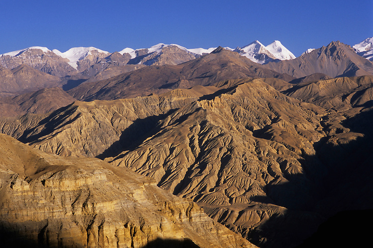 Damodar Himal seen from Mustang valley, Nepal, 2008