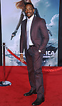 """Anthony Mackie at the premiere of """"Captain America The Winter Soldier"""" held at the El Capitan Theatre in Los Angeles, Ca. March 13, 2014."""
