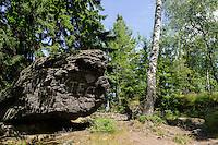 Im Isergebirge, Woiwodschaft Niederschlesien (Wojew&oacute;dztwo dolnośląskie), Polen, Europa<br /> Iser Mountains, Poland, Europe