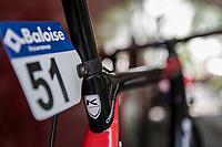 later winner Christophe Laporte (FRA/Cofidis) bike race ready<br /> <br /> <br /> Baloise Belgium Tour 2018<br /> Stage 3: ITT Bornem - Bornem (10.6km)