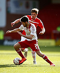 Ryan Flynn of Sheffield Utd in action during the Sky Bet League One match at Bramall Lane Stadium. Photo credit should read: Simon Bellis/Sportimage