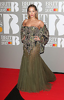 Rita Ora at The BRIT Awards 2017 at The O2, Peninsula Square, London on February 22nd 2017<br /> CAP/ROS<br /> &copy; Steve Ross/Capital Pictures /MediaPunch ***NORTH AND SOUTH AMERICAS ONLY***
