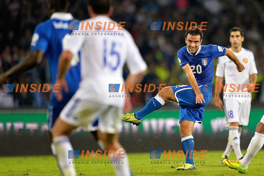 Giuseppe Rossi Italia <br /> Napoli 15-10-2013 Stadio San Paolo <br /> Football Calcio Fifa World Cup 2014 Qualifiers <br /> Europe Group B <br /> Italia - Armenia <br /> Italy - Armenia <br /> Foto Andrea Staccioli Insidefoto