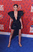 NASHVILLE, TENNESSEE - JUNE 05: Sarah Hyland attends the 2019 CMT Music Awards at Bridgestone Arena on June 05, 2019 in Nashville, Tennessee. <br /> CAP/MPI/IS/NC<br /> ©NC/IS/MPI/Capital Pictures