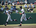 (L-R) Yuko Chonan, Chusei Mannami (),<br /> MAY 1, 2016 - baseball :<br /> Yuko Chonan and Chusei Mannami of Yokohama during the Kanagawa Prefecture High School Baseball Spring Tournament Final game between Yokohama 11-1 Nihon University Senior at Thirty-Four Hodogaya Stadium in Yokohama, Kanagawa, Japan. (Photo by BFP/AFLO)