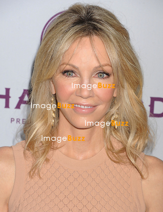 Heather Locklear arrives at the 'Scary Movie V' - Los Angeles Premiere at ArcLight Cinemas Cinerama Dome on April 11, 2013 in Hollywood, California